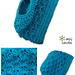 Seashore Messy Bun Hat pattern