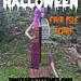 Halloween Fair Isle Scarf pattern