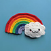 Rainbow Cloud Amigurumi pattern