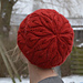 Slouchy Candle Flame Hat pattern