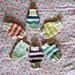 Knitted Wrist Cozies pattern