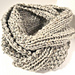 Two Row Textured Infinity Scarf pattern