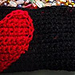 Half-Hearted Pouch pattern
