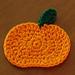 Pumpkin Coaster pattern