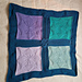 Craftymama Spring CAL: 4 Square Textured Blanket pattern