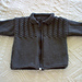 Cable Yoke Jacket pattern