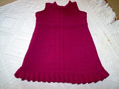 Frilled Dress (front)
