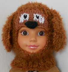 Ravelry: #35 Puppy Dog Balaclava Hat pattern by Sally Nielsen