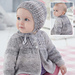 Lace Jacket & Bonnet pattern