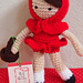 Little Red Riding Hood Doll pattern