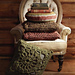 Crochet Squares Cushion pattern