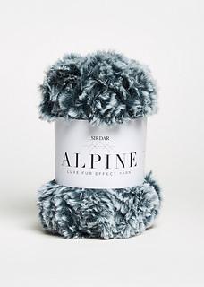 Sirdar WILD 409 luxe Chunky fluffy Knitting Yarn 50g ball multi coloured