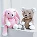 Teddy Bear & Bunny Rabbit 2521 pattern