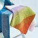 Diagonal Garter Blanket 5341 pattern