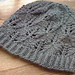 Lace-leaf hat pattern