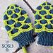 Turtle Baby Mittens pattern