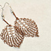 Wire Leaf Earrings pattern