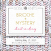 Brioche + Mystery pattern