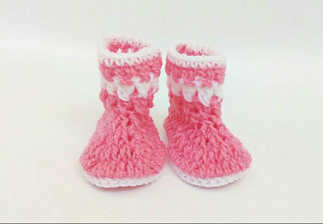 Ravelry: Little Baby Boots pattern by