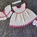 The White Baby Dress SET pattern