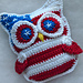 4th July Owl pattern