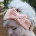 Bow Headband Tutorial pattern