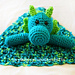 Dandy Dragon Blanket Buddy pattern