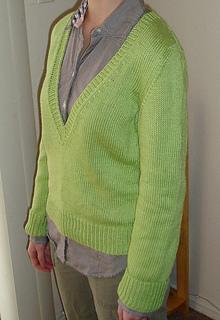 green sweater 2
