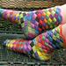 Lonely Socks Club: Entrelac Sock pattern