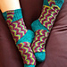 Sidetracked Socks pattern