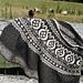 Fair Isle Thistle Cape pattern