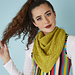 Yellow Brick Shawl pattern