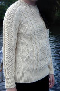 Ravelry: Avery Irish Knit Sweater pattern by Sueann Nichols