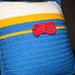 Donald Duck Throw Pillow pattern