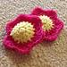 My flower tawashi pattern