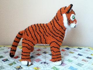 Minimals-Tiger amigurumi pattern - Amigurumipatterns.net   240x320