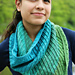 The Queen's Spiral Cowl pattern