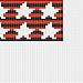 Stripes and stars chart pattern