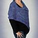 poncho azul pattern
