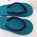 Summer Flippers - Felted Flip-Flop Slippers pattern
