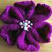 Knitted Flower pattern
