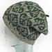 Aspen leaf hat pattern