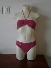 pink bandeau