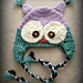 Hoot the Owl Newborn Photo Prop pattern