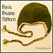 Basic Beanie with Earflaps pattern