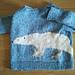 No.01 Polar Bear Pullover シロクマのプルオーバー pattern