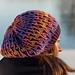 Brioche Sister Hat pattern