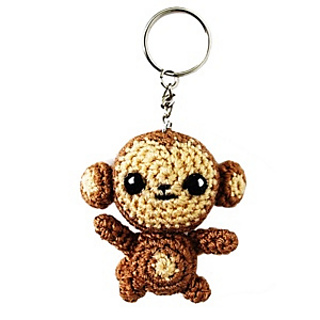 Crochet pattern Little monkey! PDF Ternura Amigurumi English ... | 320x320