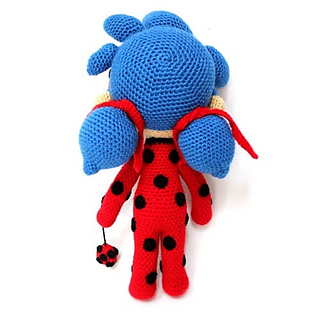 Miraculous Crochet Amigurumi of Ladybug and Cat Noir – So Good ... | 320x320