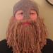 LARPing Helmet with Optional Beard pattern